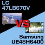 Jaki telewizor wybrać – LG 47LB670V czy Samsung UE48H6400?