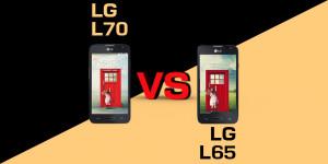 LG L65 czy LG L70