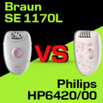 Jaki depilator kupić – Philips HP6420/00 czy Braun SE 1170L?