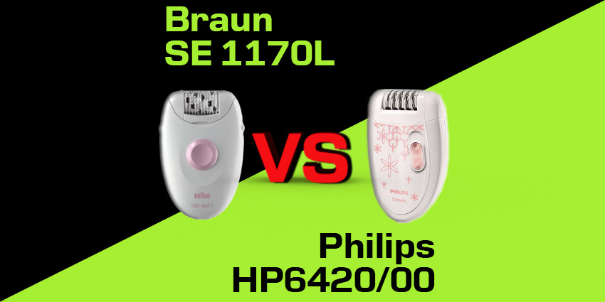 Philips HP6420/00 czy Braun SE 1170L?