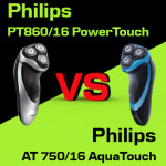 Jaką golarkę kupić – Philips PT860/16 PowerTouch czy Philips AT 750/16 AquaTouch?