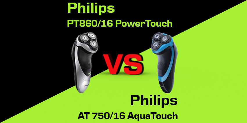 Philips PT860/16 PowerTouch czy Philips AT 750/16 AquaTouch