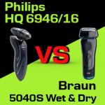 Jaką golarkę kupić – Philips RQ 1195/21 czy Braun 5040S Wet & Dry Series 5?