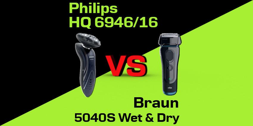 Philips RQ 1195/21 czy Braun 5040S Wet & Dry Series 5