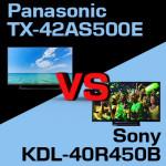 Jaki telewizor wybrać – Sony KDL-40R450B czy Panasonic TX-42AS500E?