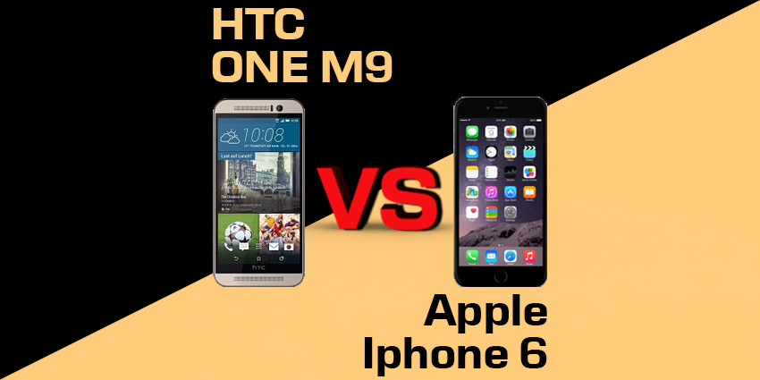 Apple Iphone 6 czy HTC One M9