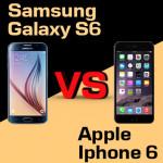 Jaki smartfon wybrać – Samsung Galaxy S6 czy Apple iPhone 6?