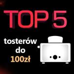 Jaki toster do 100 zł? Ranking 5 najlepszych modeli.