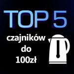 Jaki czajnik elektryczny do 100 zł? Ranking 5 najlepszych modeli.