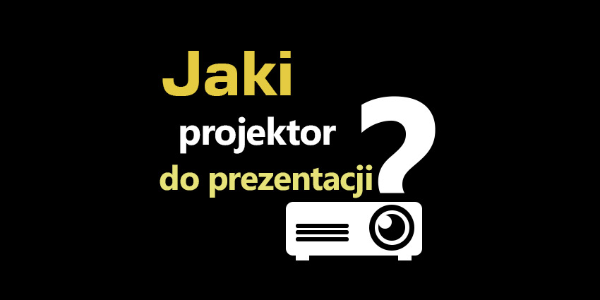 projektor do prezentacji multimedialnych