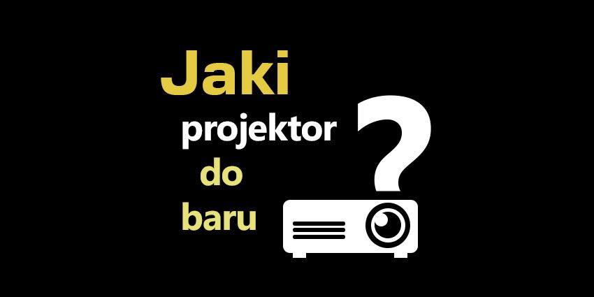 projektor do baru