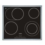 Płyta ceramiczna Bosch PKN 645F17E – instrukcja obsługi