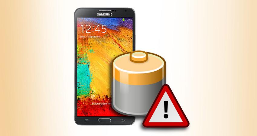 Bateria do Samsung Galaxy Note 3.