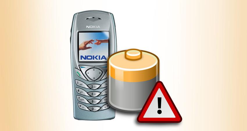 Bateria do Nokia 6100