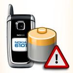 Bateria do Nokia 6101. Akumulator do telefonu.