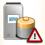 Bateria do Nokia 6170. Akumulator do telefonu.
