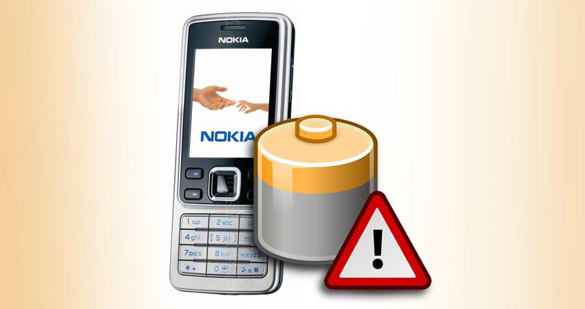 Bateria do Nokia 6300