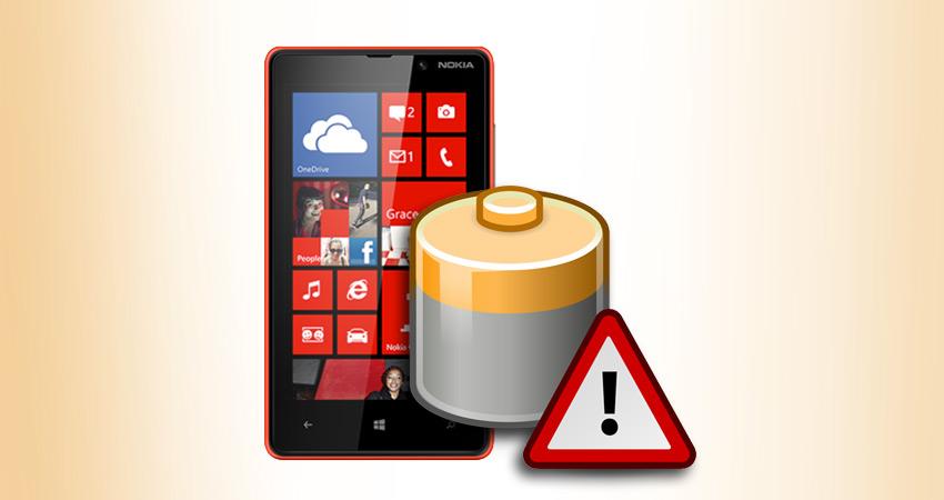 Bateria do Nokia Lumia 820.