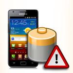 Bateria do Samsung Galaxy S II. Akumulator do telefonu.