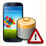 Bateria do Samsung Galaxy S4. Akumulator do telefonu.