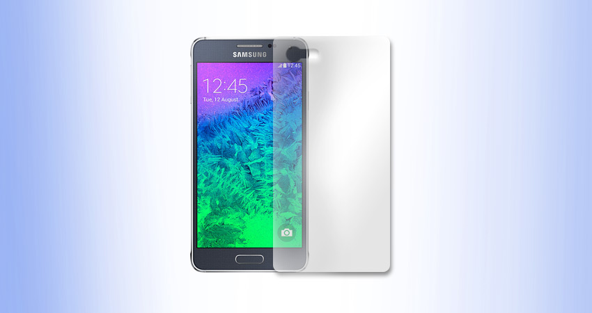 Samsung Galaxy Alpha folia