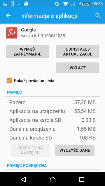 android wyłączania aplikacji