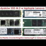 Test dysków SSD M.2 w laptopie Lenovo Y700 | SATA III & PCIe