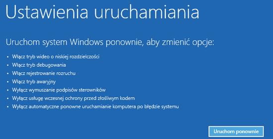 tryb awaryjny windows 8