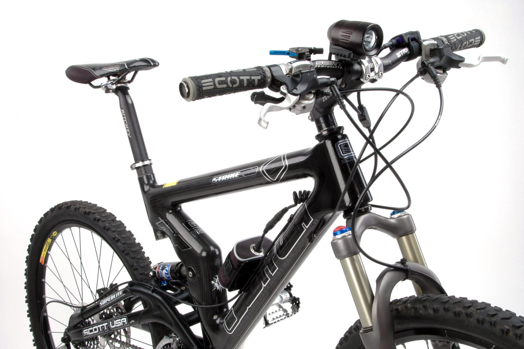 latarka na rower