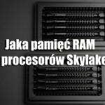 Jaka pamięć RAM do procesorów Skylake?