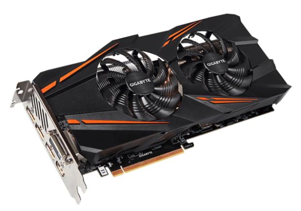Gigabyte GeForce GTX 1070 WindForce OC karta