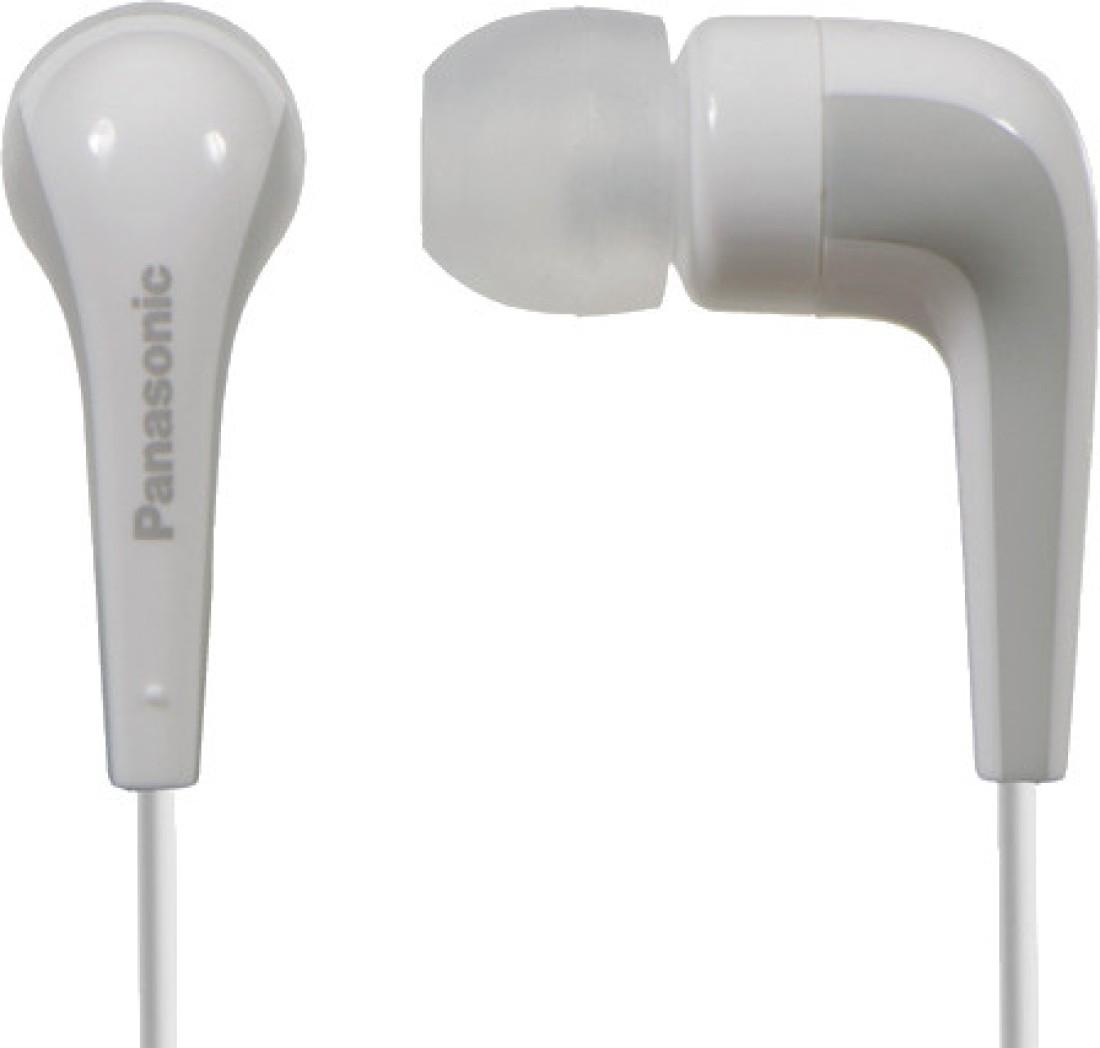 Białe słuchawki