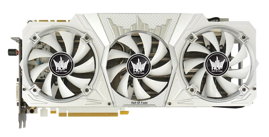 Galax GeForce GTX 1080 HOF specyfikacja