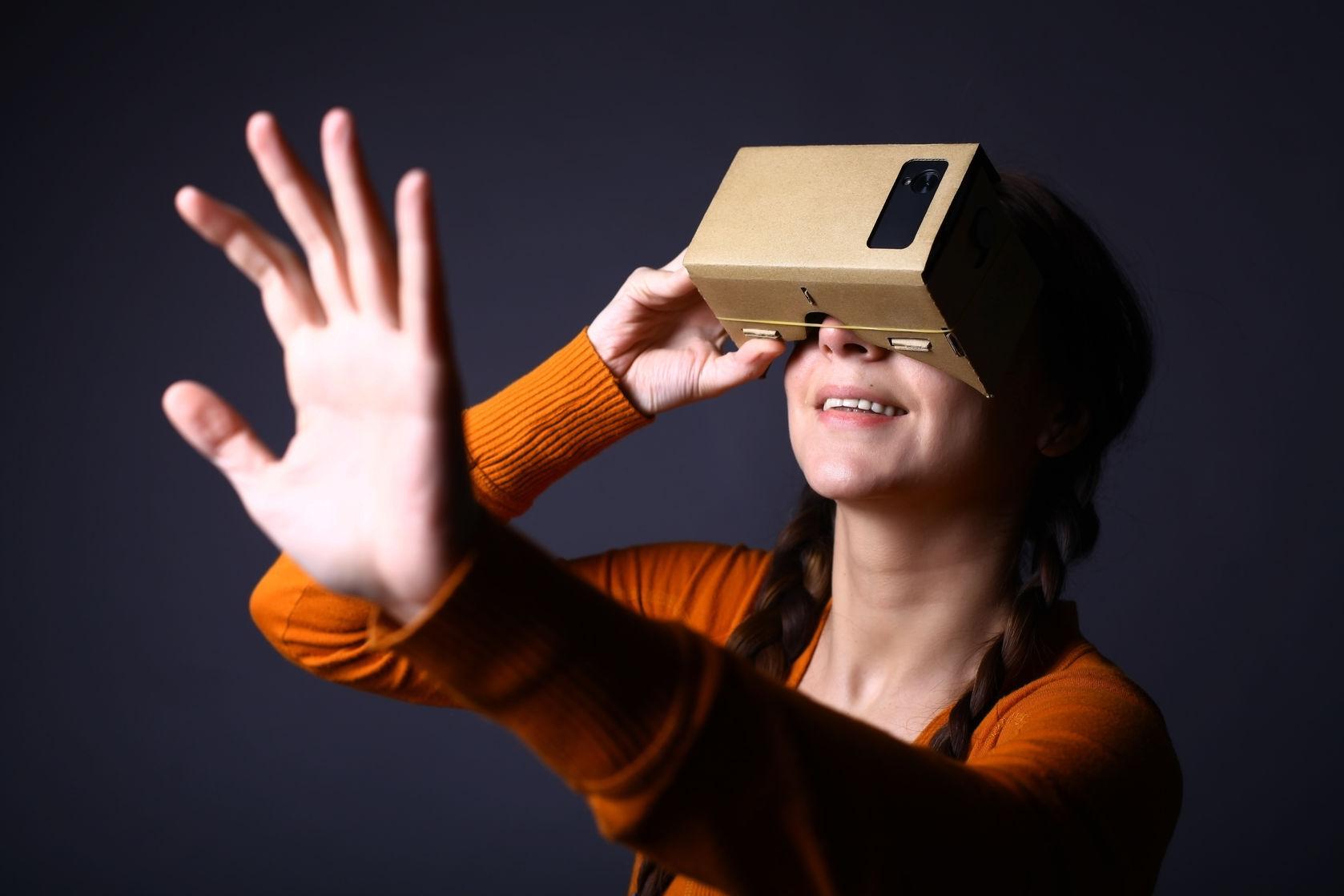Google Cardboard zdjęcie