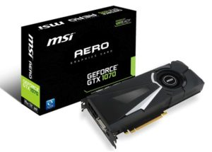 MSI GeForce GTX 1070 Aero (8-pin)