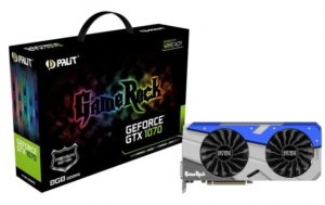 Palit GeForce GTX 1070 GameRock Premium Edition (8-pin)