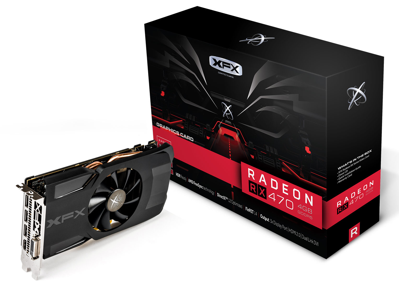 XFX Radeon RX 470 Single Fan Triple X