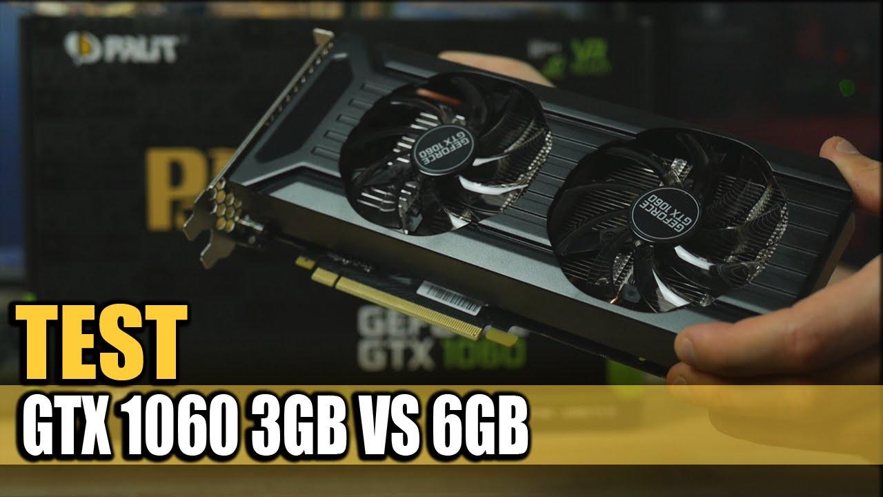 GeForce GTX 1060 3GB czy 6GB