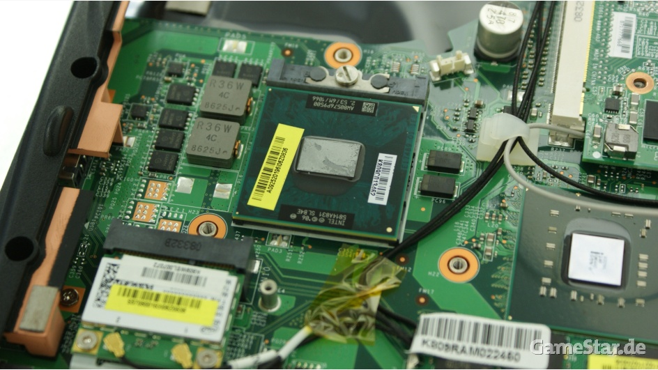 procesor w laptopie
