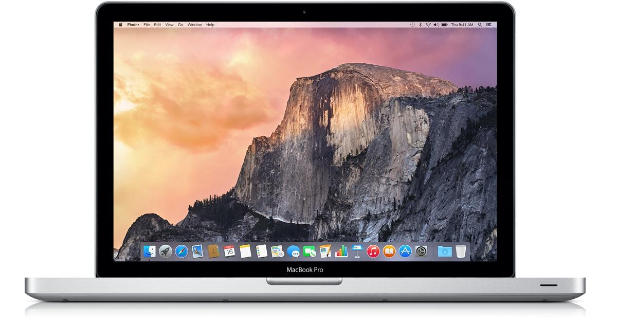 MacBook Pro 13 specyfikacja