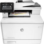 Urządzenie wielofunkcyjne Hewlett-Packard Color LaserJet Pro MFP M477fdn (CF378A) instrukcja obsługi