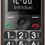 Telefon komórkowy Maxcom MM 560 BB, Czarno-czerwony instrukcja obsługi
